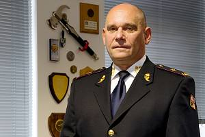 Miloslav Svatoš, ředitel Hasičského záchranného sboru Středočeského kraje.