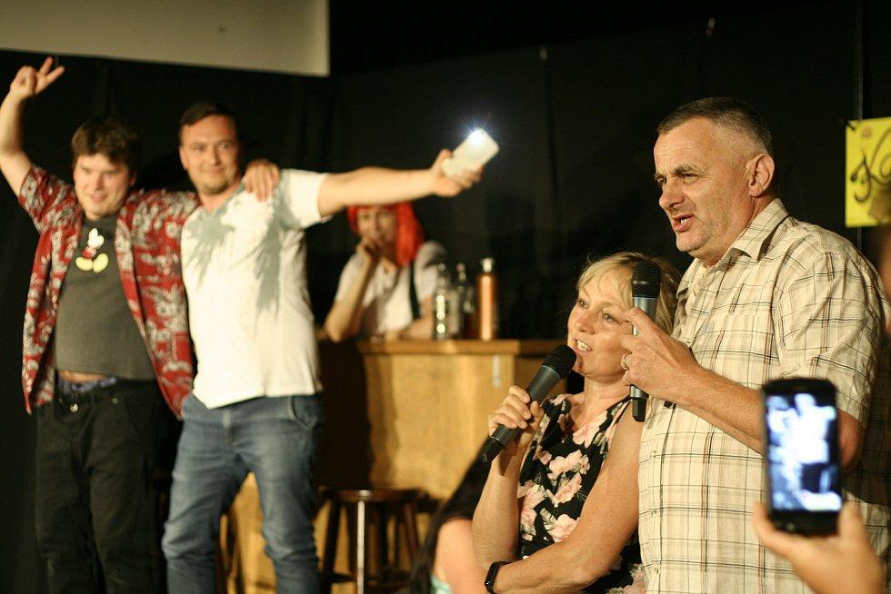 Inscenace hry Ztracená v čase divadelního spolku Zornice Maršovice.