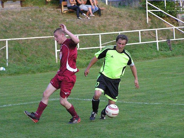 Ostředek v domácím prostředí prohrál s Maršovicemi 0:1.