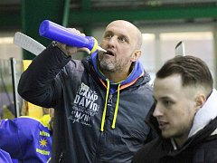 Trenér hokejistů HC Lev Benešov Pavel Dvořák.