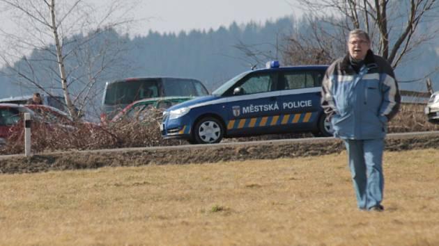 Stážníci z Votic pomáhají zajišťovat společenské akce i okolním obcím.