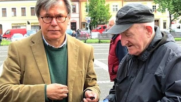 Libor Rouček (vlevo).