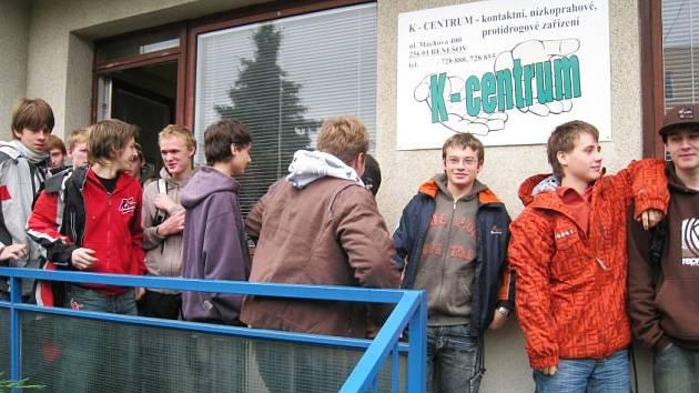 Studenti Střední průmyslové školy Vlašim navštívili K–centrum