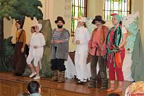 Nejmenší diváci si představení O Zvířátkách a loupežnících užili.