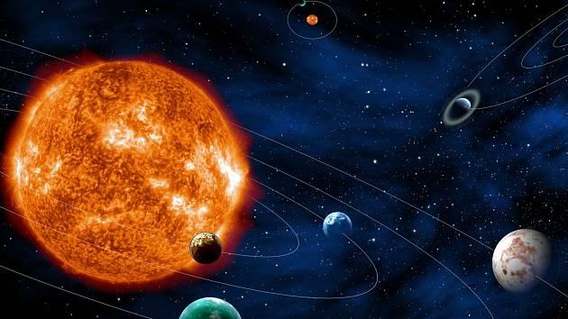 Planety - Ilustrační fotografie