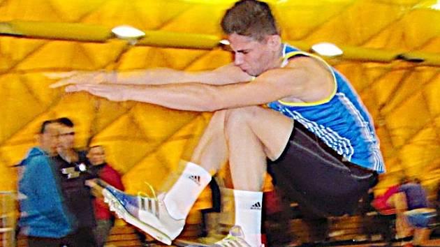 Lukáš Svoboda opět na sedmiboji MČR dokázal, že je velkým atletickým talentem.