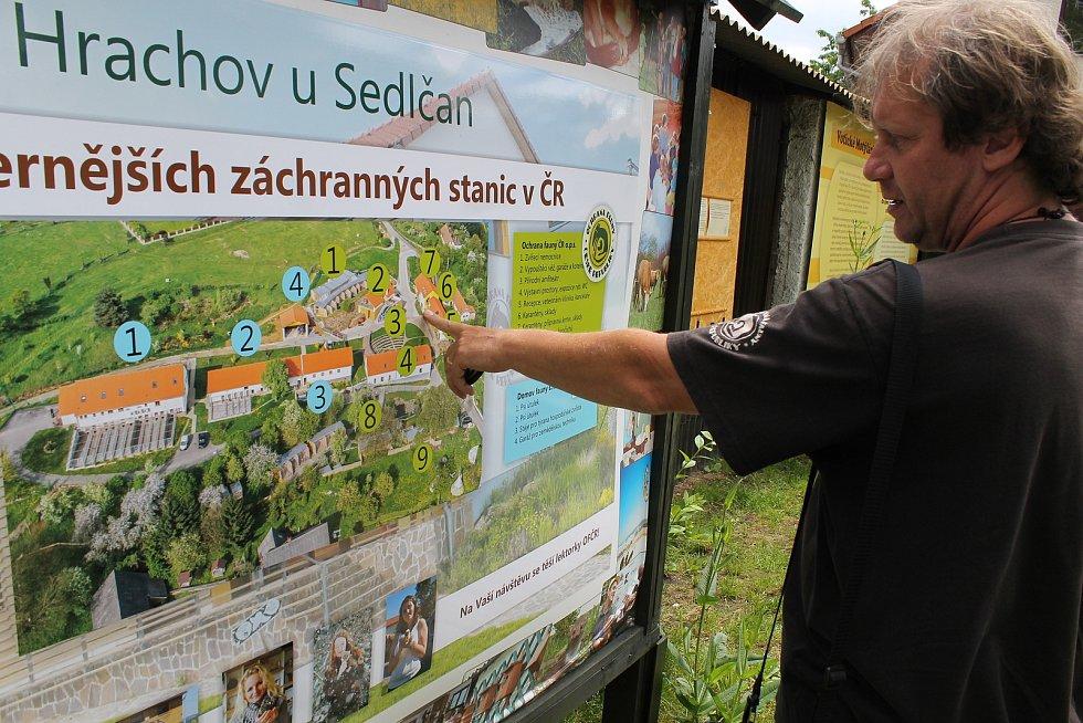 Pavel Křížek, zakladatel votické ekologické organizace Ochrany fauny ČR.