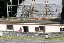 Amfiteátr v Konopišti už filmová léta neprožívá.