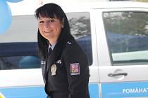 Benešovská policejní mluvčí Eva Stulíková se v sobotu zúčastní na Konopišti soutěže Miss hasička Středočeského kraje 2015 jako porotkyně.
