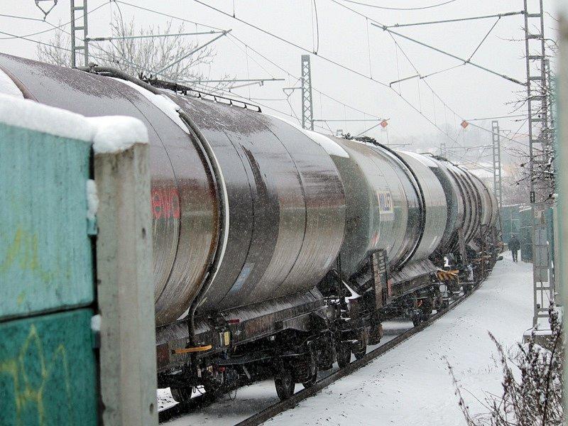 Nákladní vlak srazil na kolejích v úrovní benešovské ulice Jiřího Franka člověka.