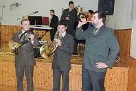 Ples Mysliveckého spolku Žďár Smilkov v Neustupově.