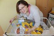 Manželé Markéta a David Belkovi se od 10. ledna radují z prvorozeného synka Viktora. Ten při narození ve 4.30 měl 3 570 gramů a 49 centimetrů. Rodina bude společně žít v Bystřici u Benešova.