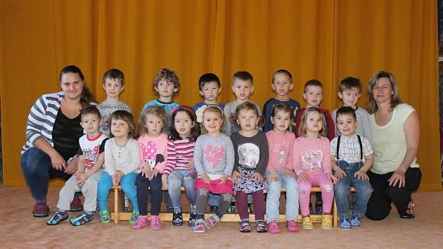 Mateřská škola v Longenově ulici v Benešově: Slůňata, Jana Klápová, Monika Stibůrková.