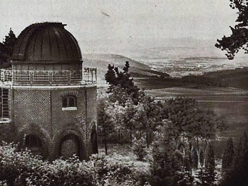 Hvězdárna Ondřejov v roce 1927.
