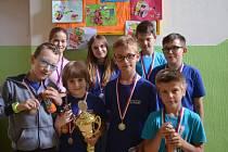 Nejlepší šachisté z letošního ročníku Stamat ligy převzali poháry a medaile
