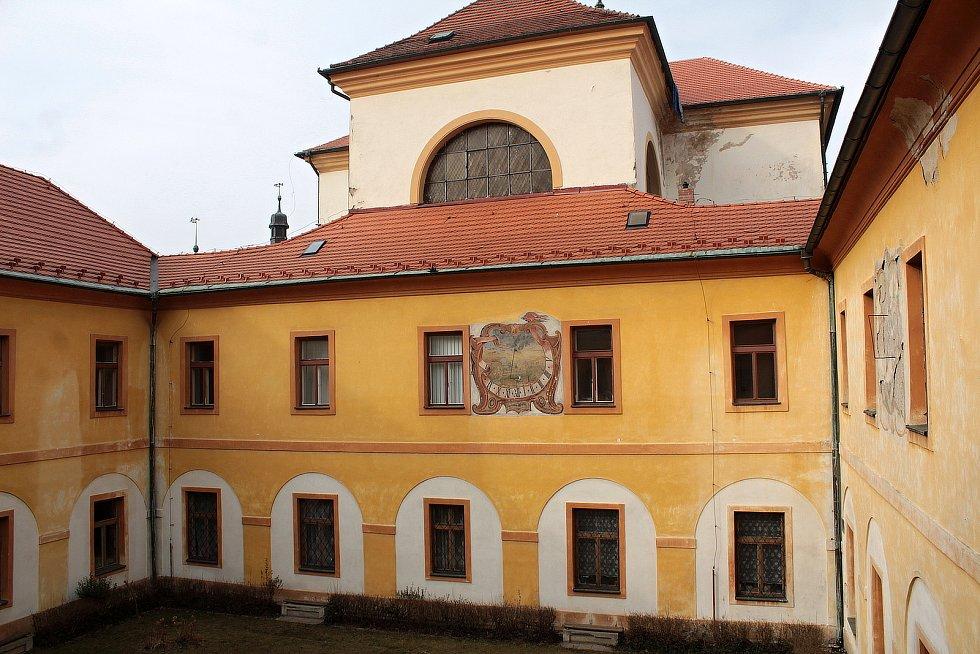Piaristická kolej je dominantou centra Benešova.
