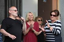 Čtvrté setkání v Benešově v rámci Milionu chvilek pro demokracii.