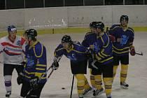 Hokejový zápas II., ligy Benešov - Chotěboř