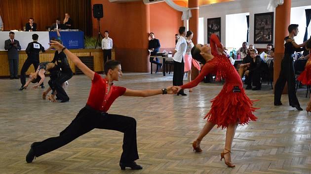 Taneční soutěž o Cenu města Týnce nad Sázavou.
