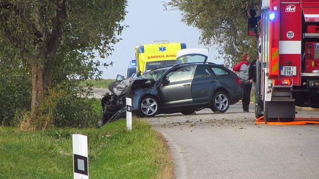 K tragické dopravní nehodě došlo v sobotu odpoledne na silnici 113 u Vlašimi. Po nárazu do stromu zemřel řidič osobního vozu, dvě děti utrpěly vážná zranění.