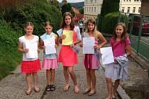 Konec školního roku 2014/2015 v Týnci nad Sázavou