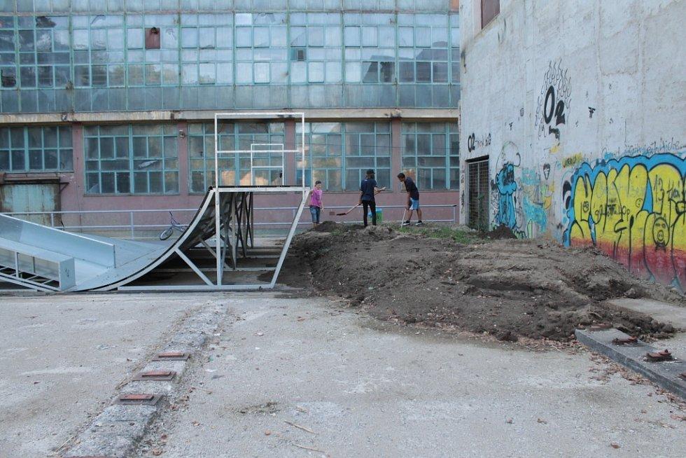Skatepark na Brodcích.