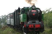 Vlak s parní lokomotivou pojede v úseku Sedlčany - Štětkovice v sobotu 27. září pro veřejnost třikrát.
