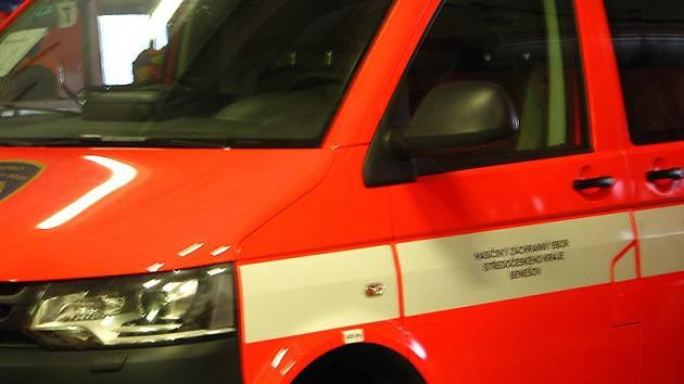 Nový zásahový hasičský VW s automatickou převodovkou zanedlouho vyrazí z benešovské požární stanice k výjezdům do ulic města.