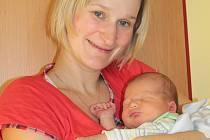Jakub Fox s mámou Simonou, Vlašim