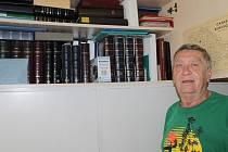 Bohumil Zima se svému koníčku věnuje už více než čtyřicet let.