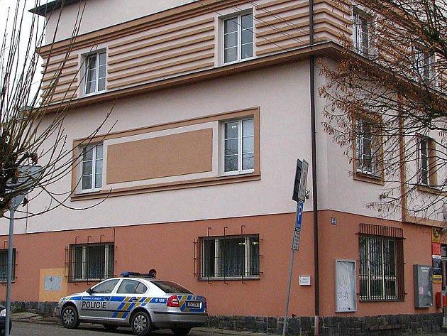 Sídlo Obvodního oddělení PČR v Čerčanech. Ilustrační foto.