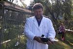Z Podblanické výstavy chovatelů drobného zvířectva v Načeradci.