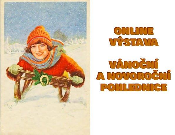 Sládečkovo vlastivědné muzeum v Kladně je sice aktuálně zavřené, lidé si však mohou jeho výstavu týkající se vánočních a novoročních pohlednic prohlédnout na internetu.