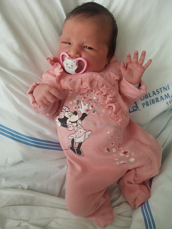 Nela Kroužková se narodila 12. dubna v 11:40 v příbramské porodnici. Po porodu vážila 3560 g a měřila 50 cm. S maminkou Soňou Semberovou a tatínkem Davidem Kroužkem odjela do Dublovic, kde na ní čekali sourozenci Amálka a Tomášek.