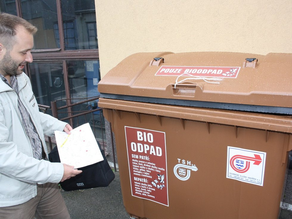 Vlašim si posvítí na ty, kteří vozí bioodpad jinam, než mají.