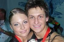Pavel Sirotek se svou sportovní partnerkou Veronikou Šindelářovou v sobotu odlétají do Austrálie.