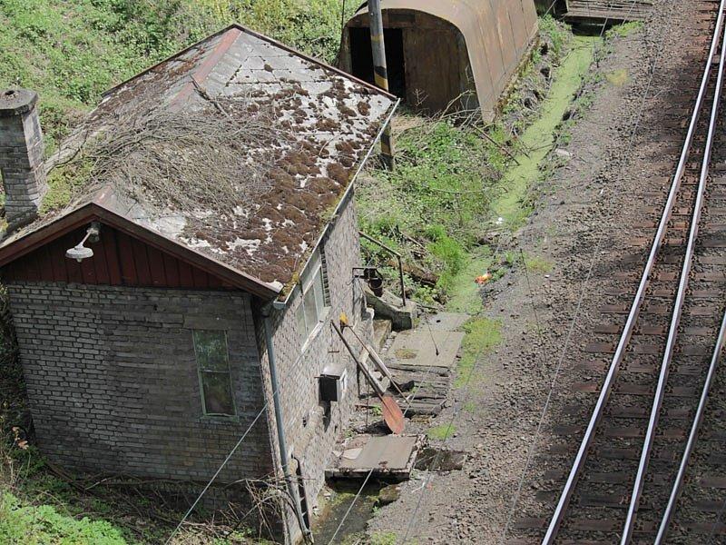 Střezimíř - stavědlo č.1 na táborském (jižním) zhlaví.
