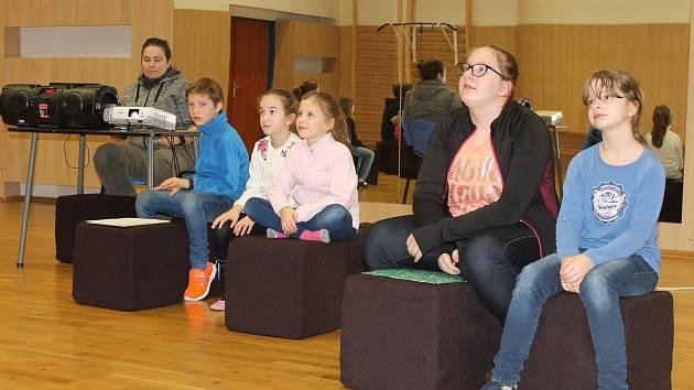 Ze soutěže Videostop, se kterou trávily děti pololetní prázdniny v Domě dětí a mládeže v Benešově.