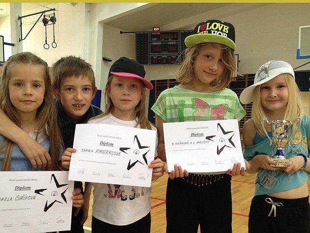 Úspěšní finalisté školní soutěže Dukla má talent.