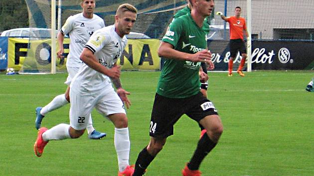 Fotbalová příprava Vlašim - Jablonec nad Nisou 0:3.
