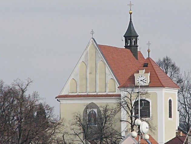 Kostel sv. Mikuláše na Karlově.