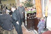 Staročeské Vánoce v kostele sv. Jakuba a Filipa na Chvojně.