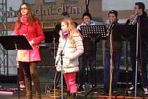 Rozvícení vánočního usvětlení se ve Voticích odehrálo v pátek 27. listopadu v 17 hodin.