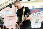 Z koncertu kapely ATD na multižánrovém festivalu Benešov City Live