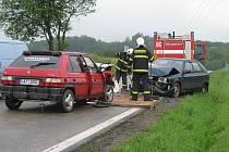 Dopravních nehod během prázdnin podle policistů přibyde. Ilustrační foto.