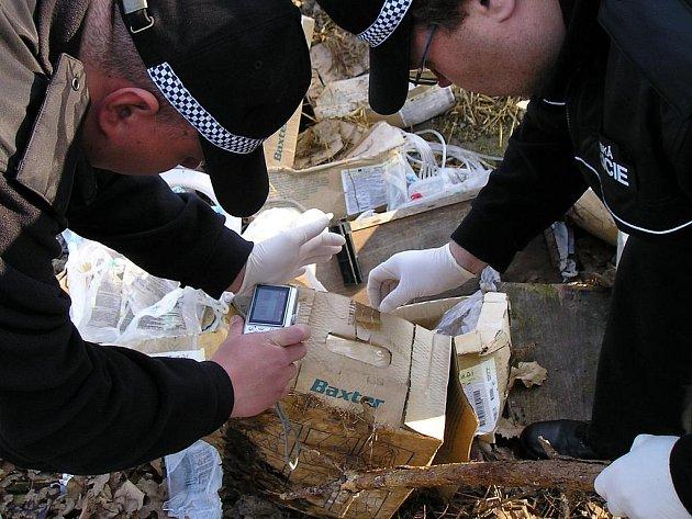 Odpad v Tužince.