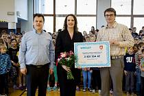 Nové hřiště si užijí školáci z Poříčí nad Sázavou. Díky rekordnímu, finančnímu daru továrny na cukrovinky začne stavba ještě letos.