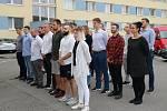 Středočeská policie přijala 1. září 2020 nové policisty.