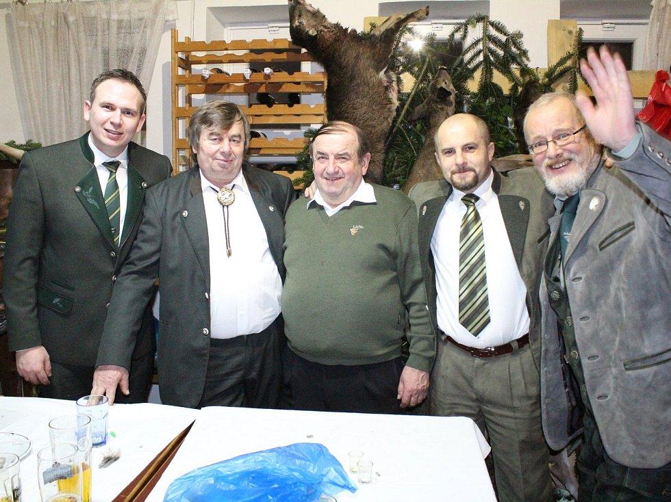 Vranovský ples místního mysliveckého spolku Daněk.