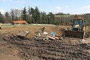 Výstavbu domků pro klienty v Odlochovicích zahájili